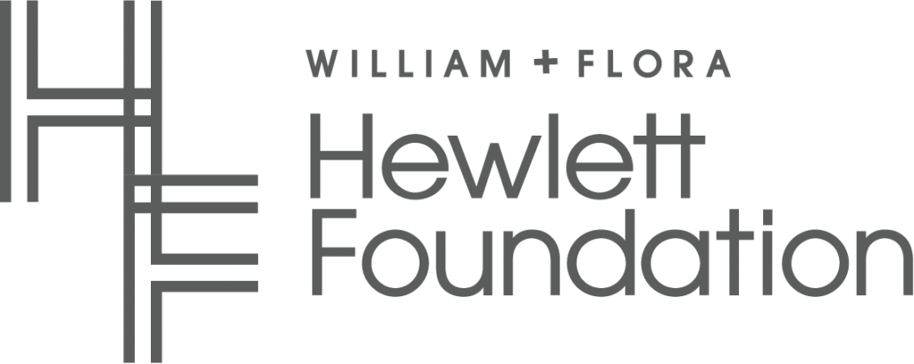 William and Flora Hewlettet Foundation