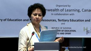 Overview of the Regional Consultations by Prof. Asha Kanwar - Asha S. Kanwar, Commonwealth of Learning (COL)