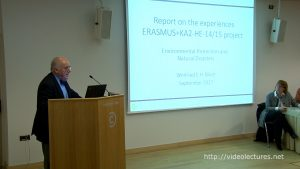 Report on the experiences ERASMUS+KA2-HE-14/15 project, uthor: Winfried E.H. Blum, University of Natural Resources and Life Sciences (BOKU)