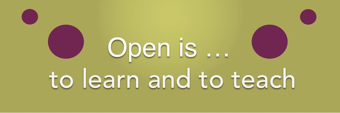 OER and the importance of Open Educators