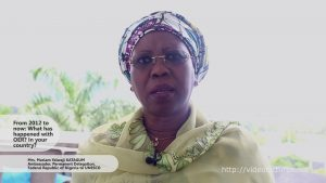 Interview with Her Excellency Mrs. Mariam Yalwaji Katagum, Permanent Delegation of the Federal Republic of Nigeria to UNESCO
