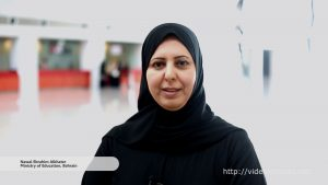 Interview with Nawal Ebrahim Alkhater, Ministry of Education Bahrain