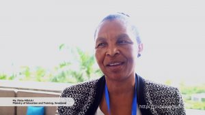 Interview with Fikile Mdluli, Ministry of Education and Training Kingdom of Swaziland
