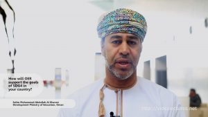 Interview with Salim Mohammed Al Kharousi, Ministry of Higher Education Oman